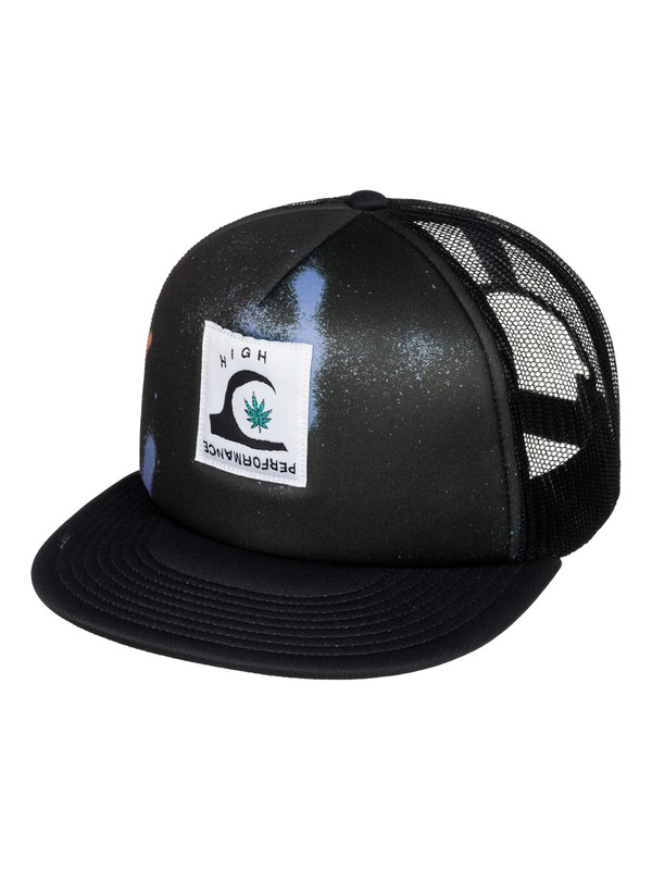 0 Blasted Trucker Hat  AQYHA03421 Quiksilver