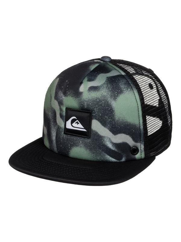 0 Boardies Trucker Hat Black AQYHA03437 Quiksilver