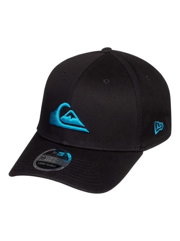 0 Mountain & Wave New Era® Stretch Fit Hat Blue AQYHA03487 Quiksilver