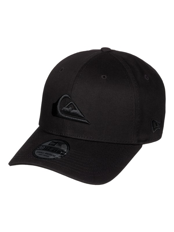 0 Mountain & Wave New Era® Stretch Fit Hat Black AQYHA03487 Quiksilver
