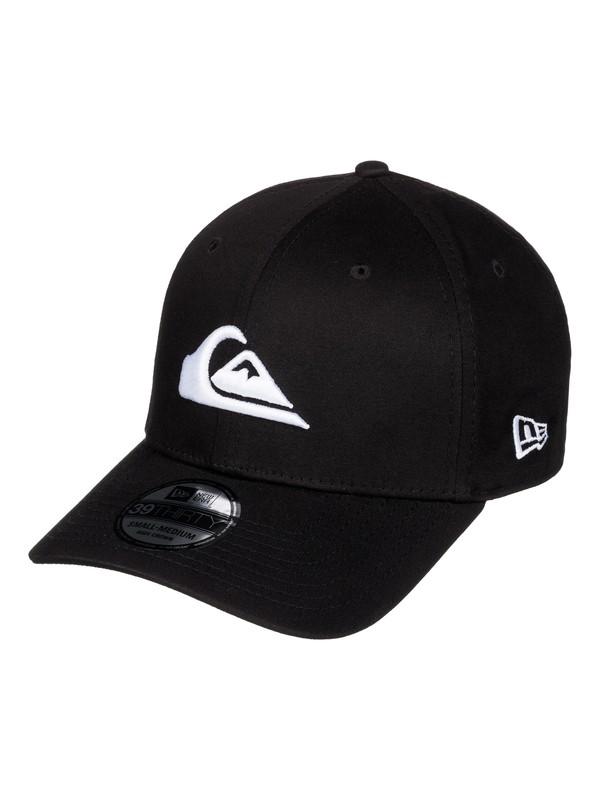0 Mountain & Wave New Era® Stretch Fit Hat White AQYHA03487 Quiksilver