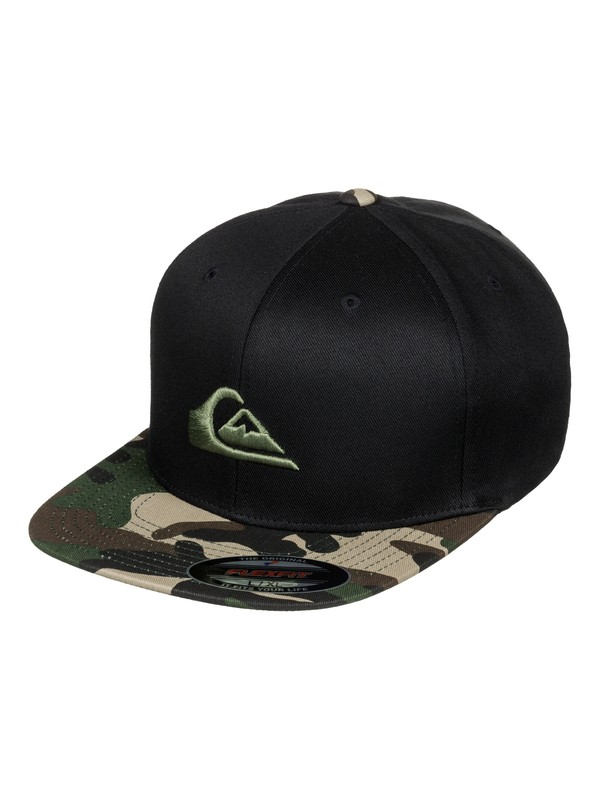 0 Stuckles Hat Black AQYHA03507 Quiksilver