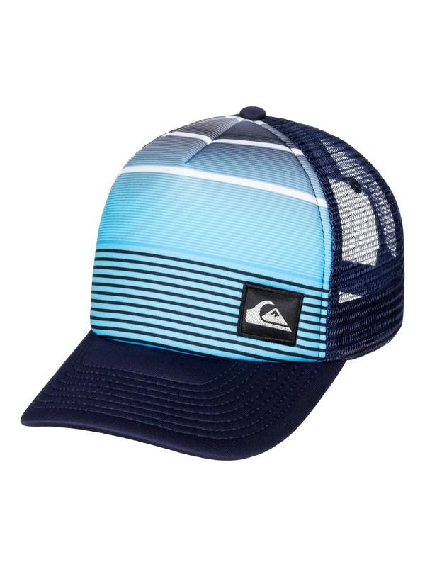0 Striped Out Trucker Hat  AQYHA03512 Quiksilver