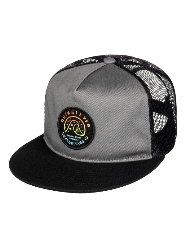 0 Concentrated - Cappellino Trucker  AQYHA03520 Quiksilver