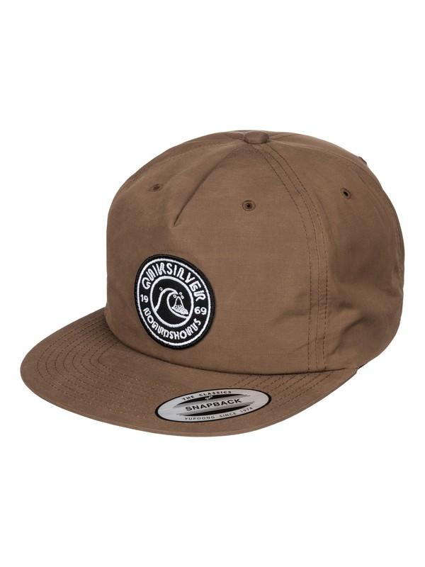 0 Bragnet - Snapback Cap  AQYHA03547 Quiksilver