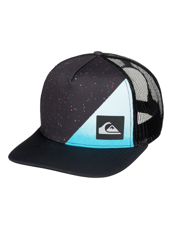 0 New Wave Comp Trucker Hat  AQYHA03580 Quiksilver