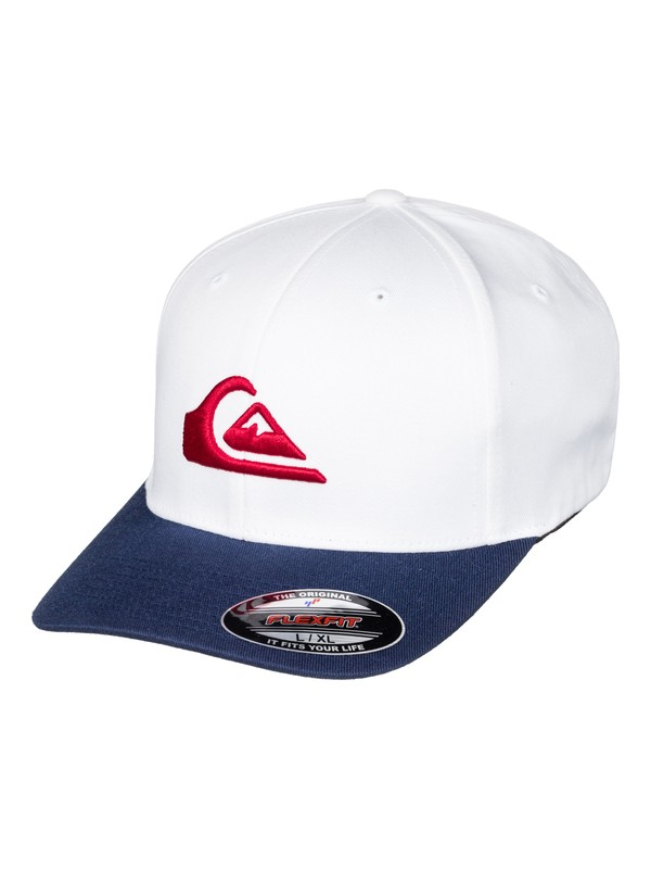 0 Mountain And Wave - Flexfit Cap White AQYHA03630 Quiksilver