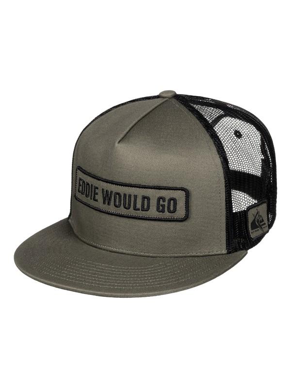0 Eddie Would Go Hat  AQYHA03665 Quiksilver