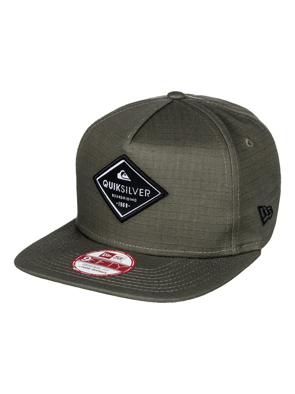 0 Stakes Snapback Hat  AQYHA03675 Quiksilver