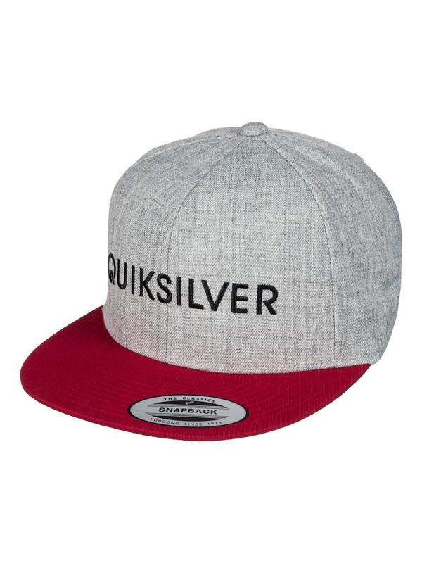 0 Top Shelfer Snapback Hat  AQYHA03736 Quiksilver