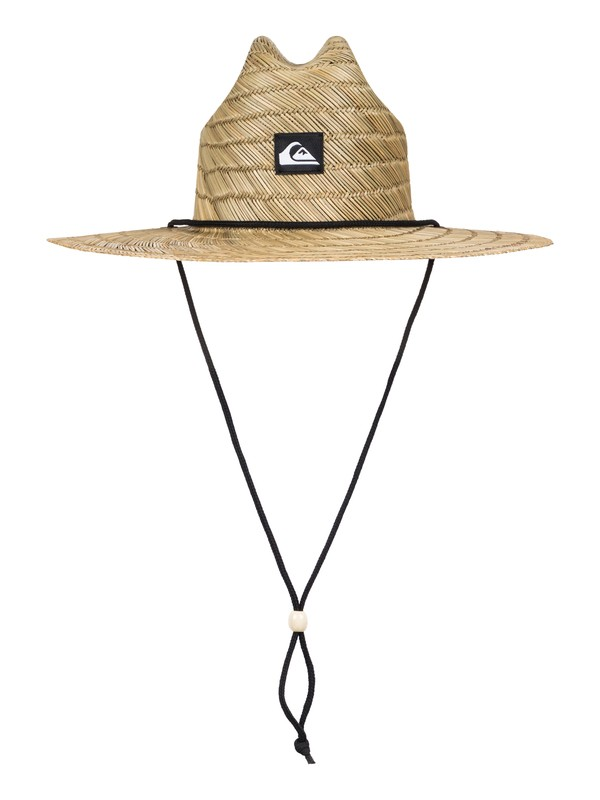 0 Pierside Slim Straw Lifeguard Hat  AQYHA03741 Quiksilver