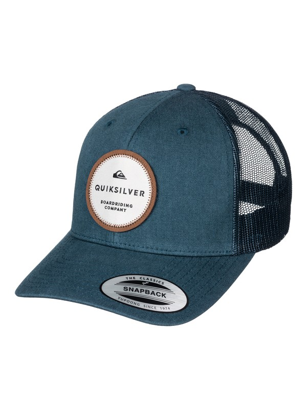 0 Dunbar Trucker Hat  AQYHA03770 Quiksilver