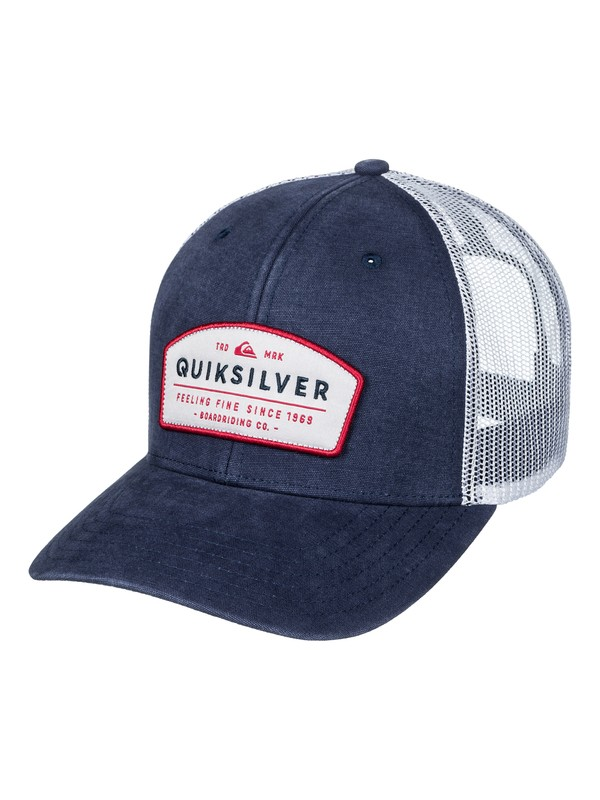0 Souper Trucker Hat  AQYHA03772 Quiksilver