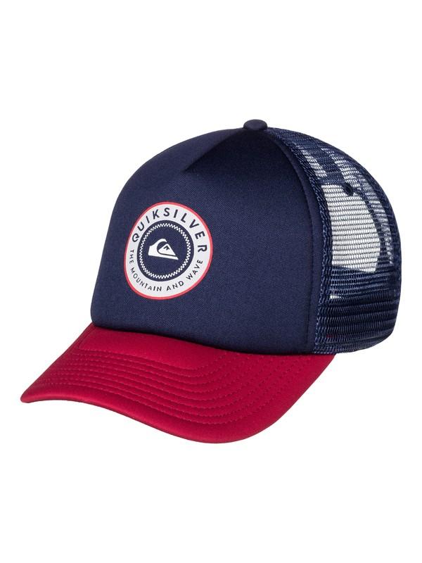 0 Curvin Trucker Hat  AQYHA03775 Quiksilver