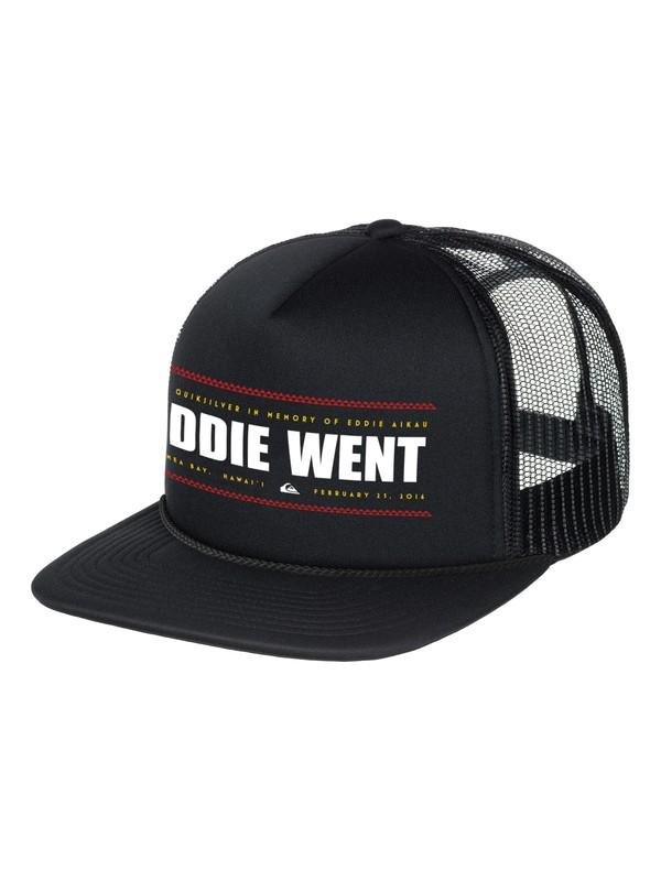 0 Eddie Went Trucker Hat  AQYHA03792 Quiksilver