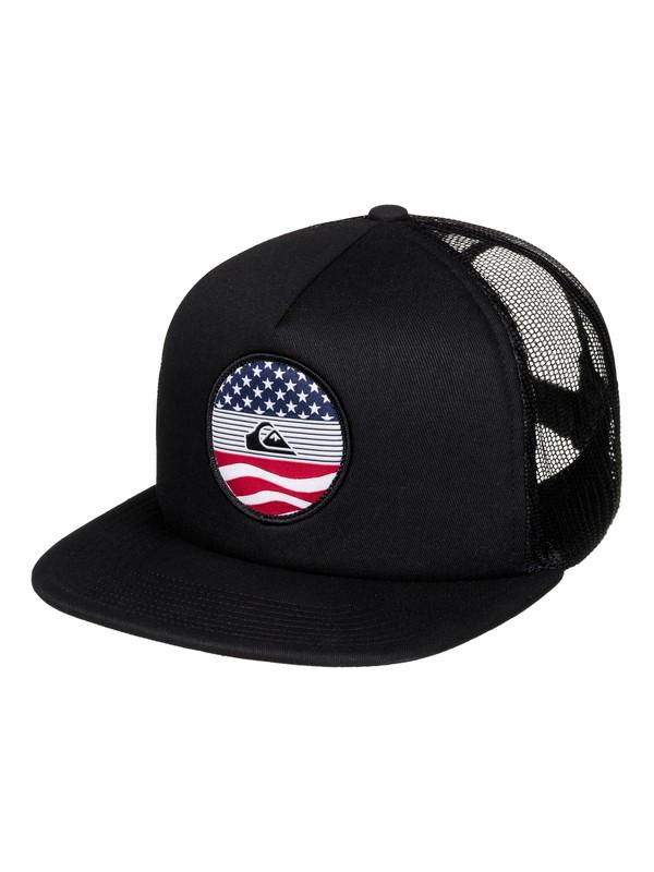 0 Stateside Trucker Hat  AQYHA03812 Quiksilver