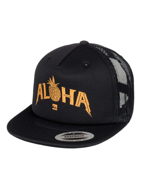 0 Piner Trucker Hat  AQYHA03816 Quiksilver