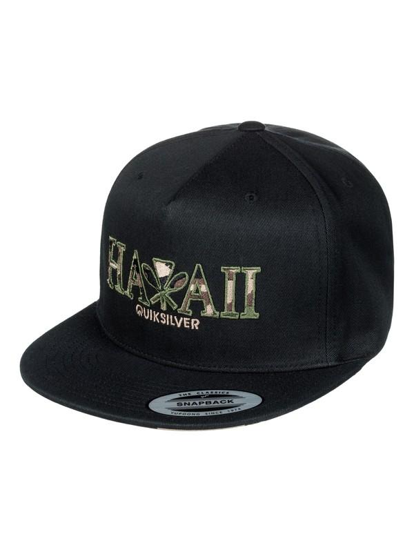 0 Tide Breezer Snapback Hat  AQYHA03817 Quiksilver