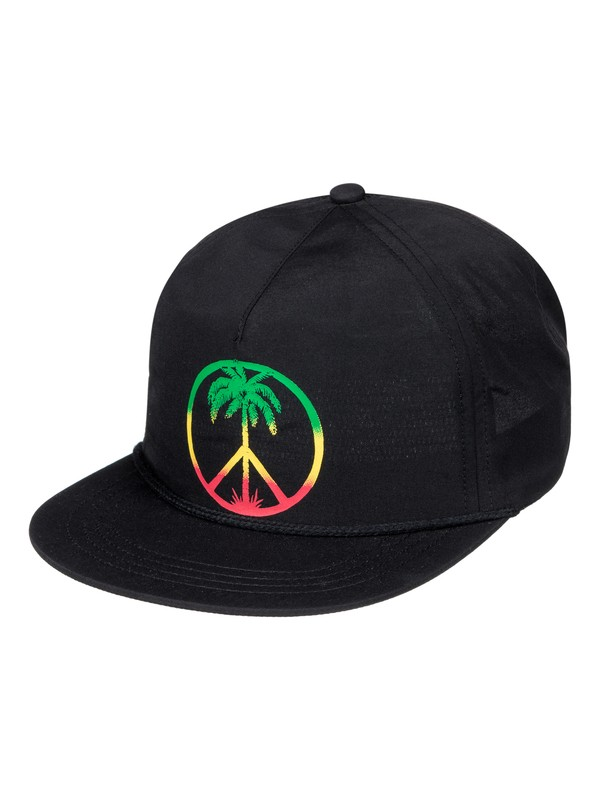 0 Peace On The Beach - Casquette snapback  AQYHA03824 Quiksilver
