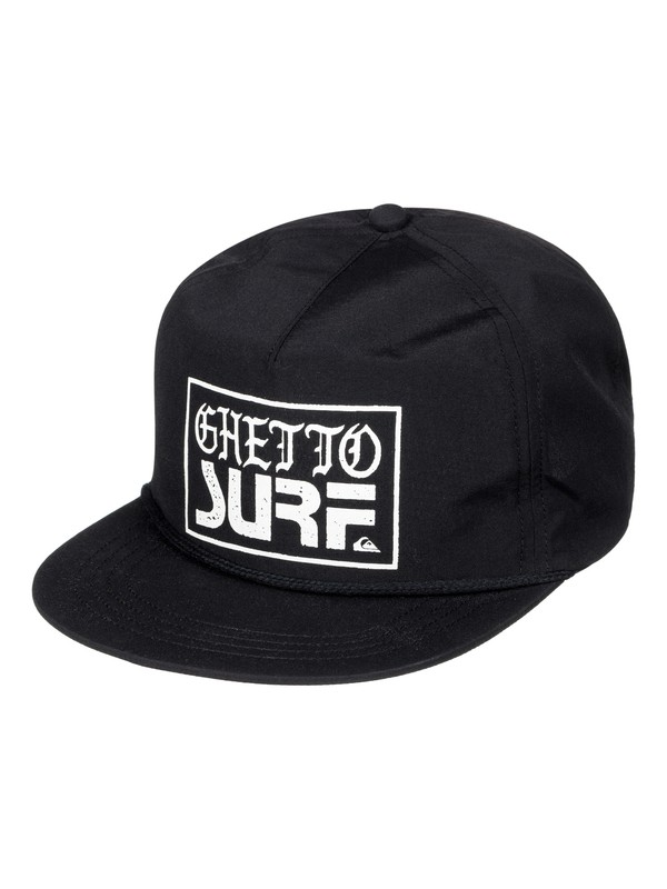 0 Ghetto Surf - Snapback Cap Schwarz AQYHA03825 Quiksilver