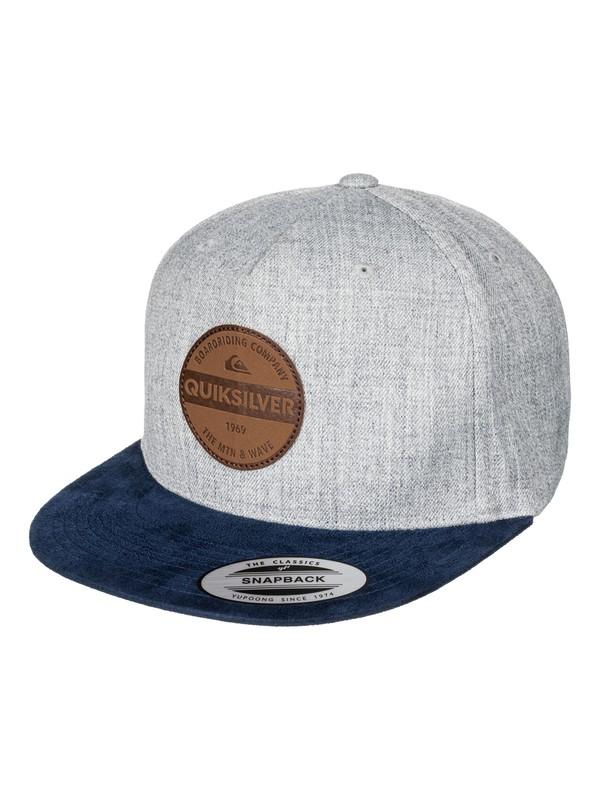 0 Pier Pressure Snapback Hat  AQYHA03834 Quiksilver