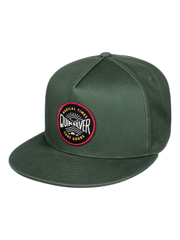 0 Mouthy Snapback Hat  AQYHA03836 Quiksilver