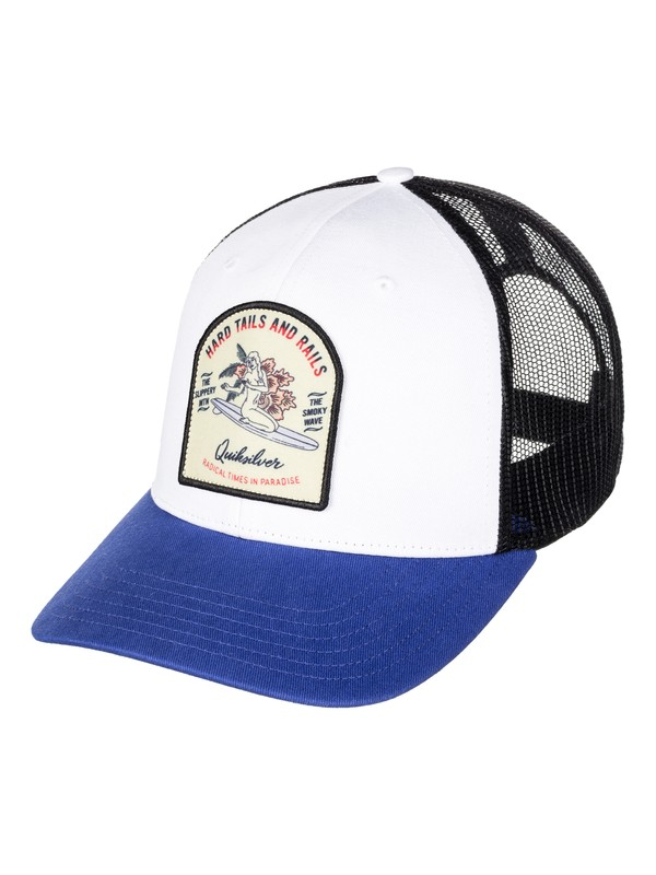 0 Setting Up - Trucker Cap  AQYHA03847 Quiksilver