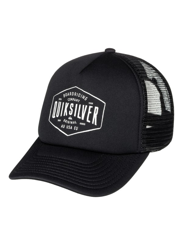 0 Knockout Trucker Hat  AQYHA03850 Quiksilver