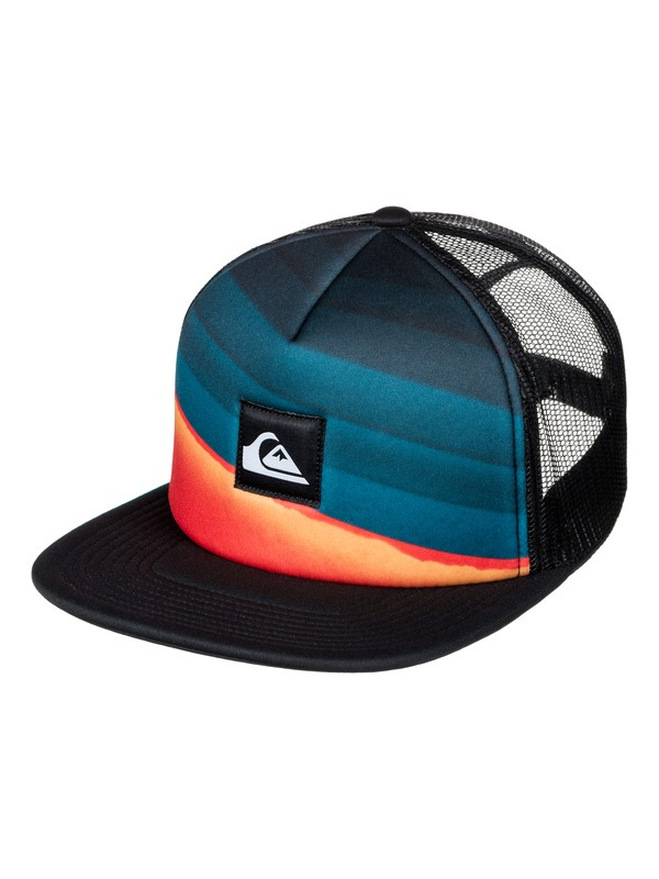 0 Slash Turner Trucker Hat  AQYHA03853 Quiksilver