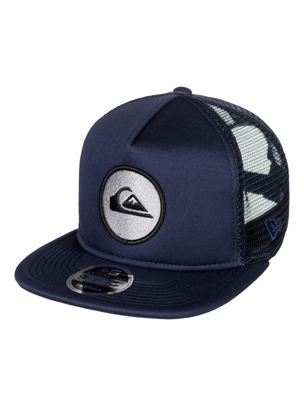 0 Con Trucker Hat Blue AQYHA03855 Quiksilver