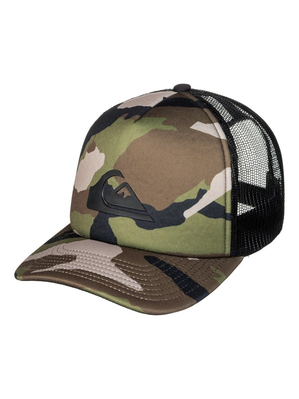 0 Snaption Trucker Hat  AQYHA03871 Quiksilver
