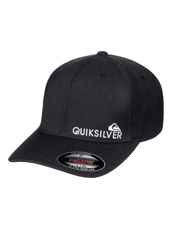 0 Sidestay Flexfit Hat  AQYHA03927 Quiksilver