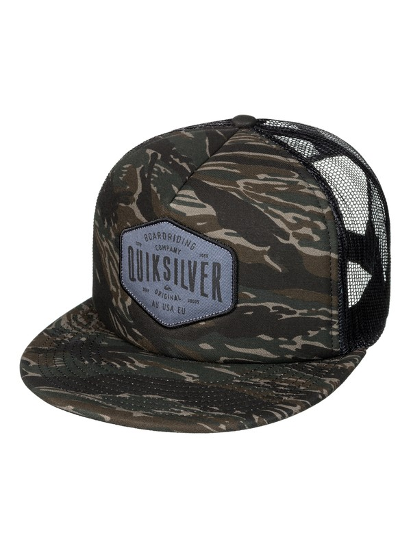 0 Men's Brain Gainer Trucker Hat  AQYHA03930 Quiksilver