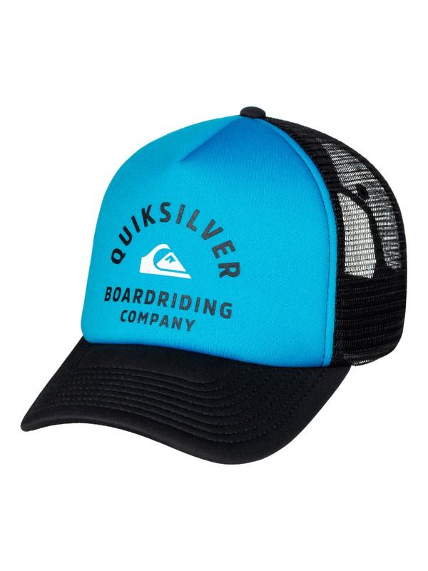 0 Breath Taker Trucker Hat  AQYHA03936 Quiksilver