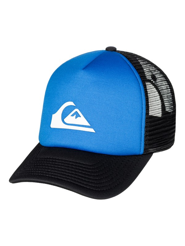 0 Men's Snaption Trucker Hat  AQYHA03937 Quiksilver