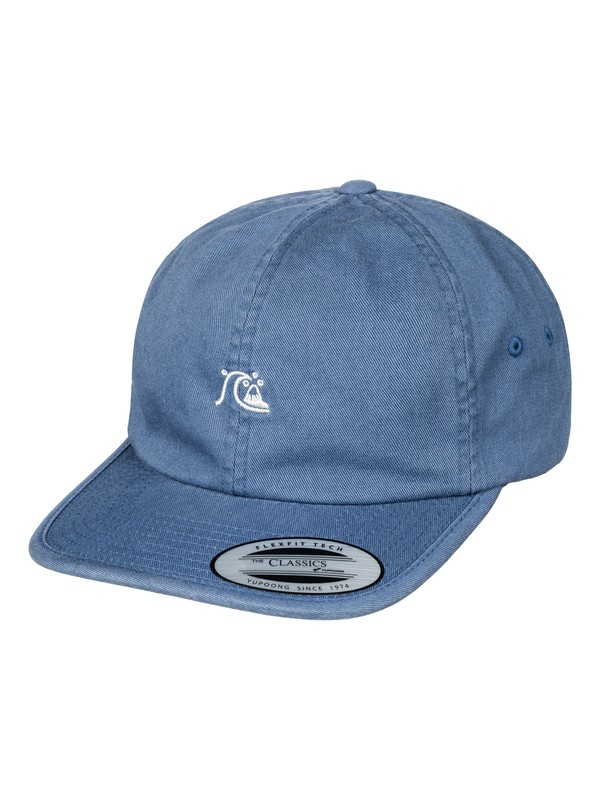 0 Men's Minimalize Dad Hat Blue AQYHA03941 Quiksilver