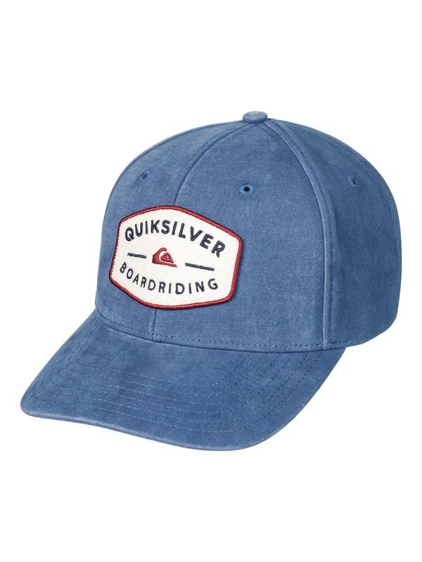 0 Men's Yard Bull Snapback Hat  AQYHA03946 Quiksilver