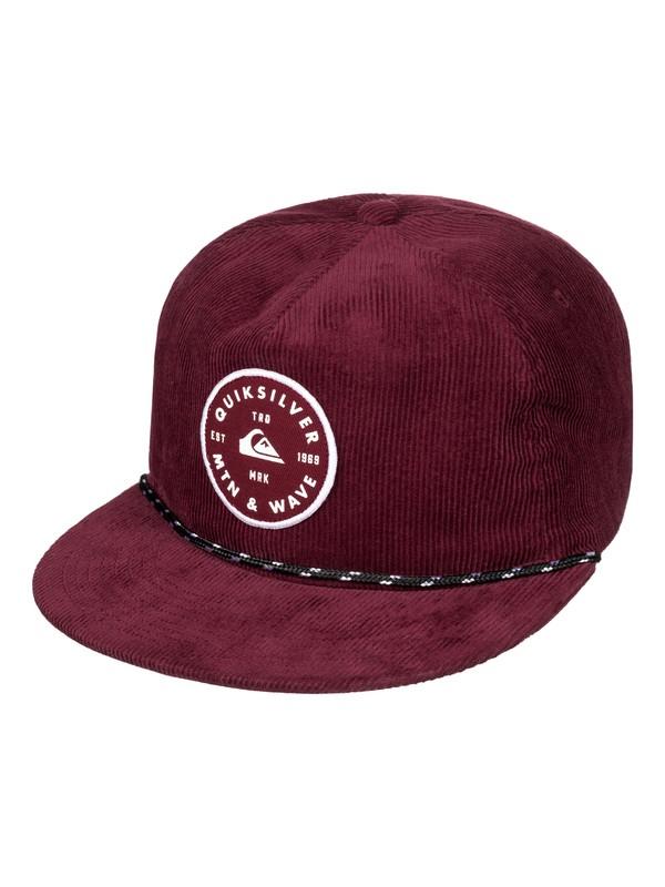 0 Men's Pounding Snapback Hat  AQYHA03948 Quiksilver