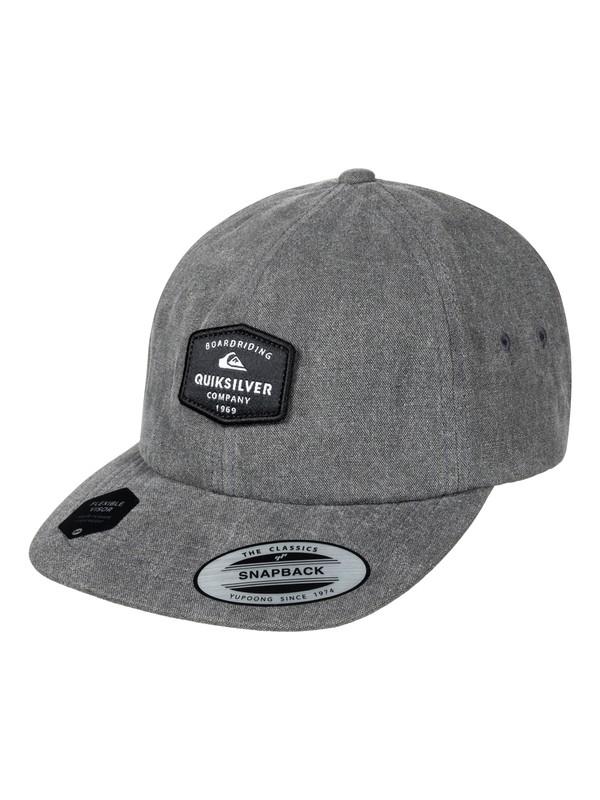 0 Men's Solobrite Snapback Hat  AQYHA03949 Quiksilver