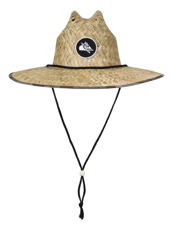 0 Eddie Straw Outsider Hat  AQYHA03964 Quiksilver
