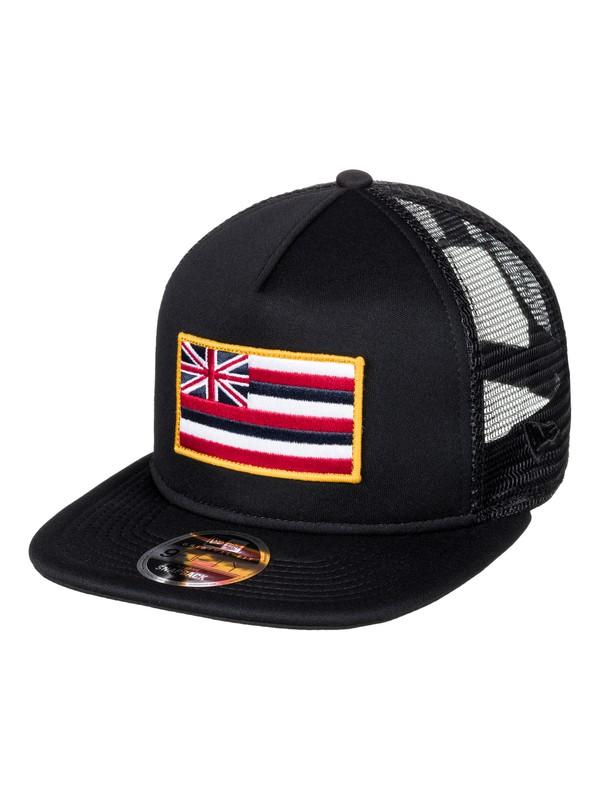 0 Flagsteed Trucker Hat  AQYHA03970 Quiksilver