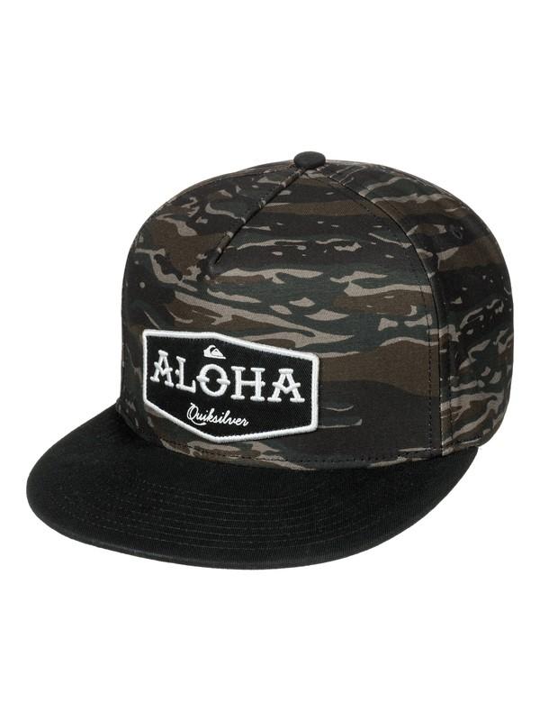 0 State Of Aloha Snapback Hat  AQYHA03974 Quiksilver