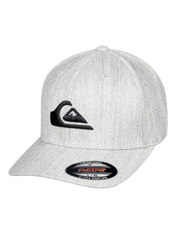 0 Mountain And Wave - Flexfit Cap Grey AQYHA03978 Quiksilver