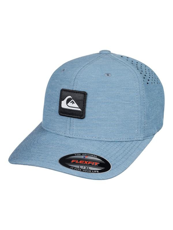 0 Union Heather Amphibian Flexfit Hat  AQYHA03979 Quiksilver