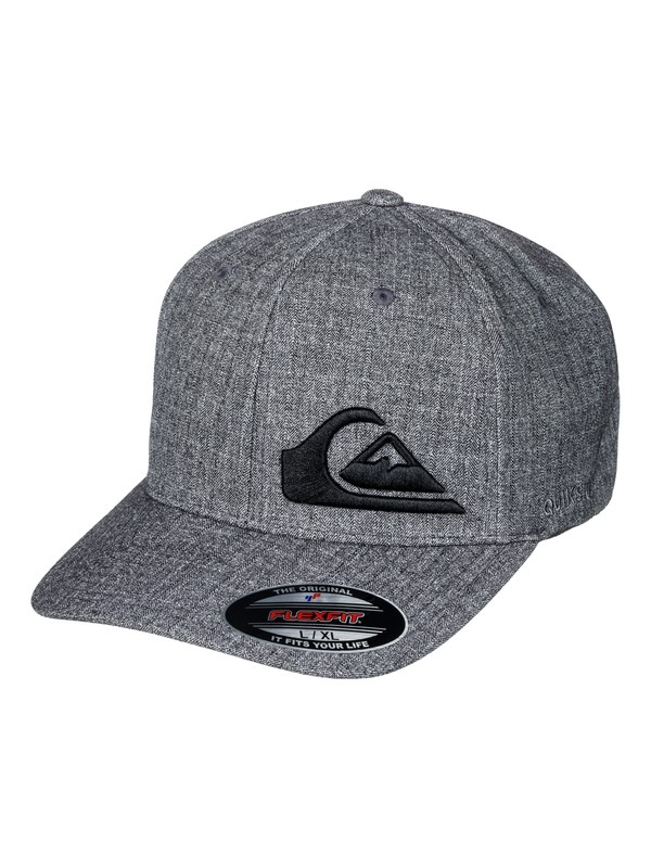 0 Final Flexfit Hat Black AQYHA03982 Quiksilver