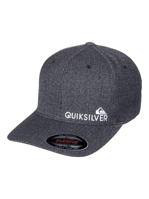 0 Sidestay - Flexfit Cap Black AQYHA03985 Quiksilver