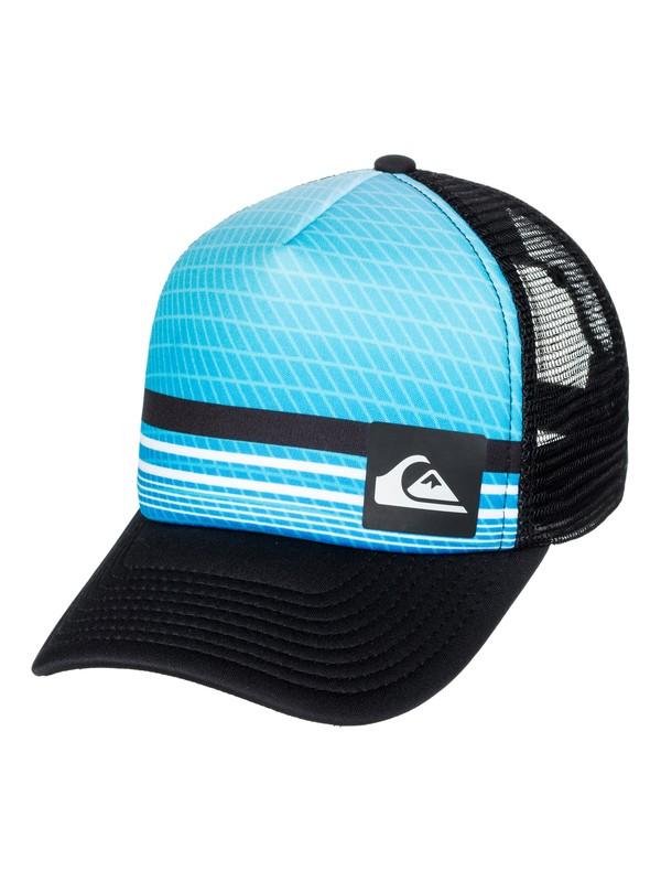 0 Foambition - Trucker Cap Blue AQYHA03986 Quiksilver