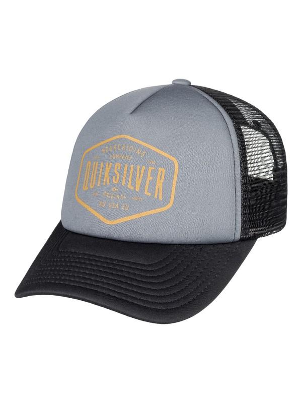 0 Freebreeze Trucker Hat  AQYHA03987 Quiksilver