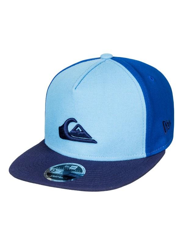 0 Stuckles - Snapback Cap Blue AQYHA03989 Quiksilver