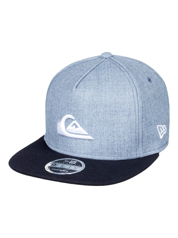 0 Stuckles Snap Snapback Hat Blue AQYHA03989 Quiksilver
